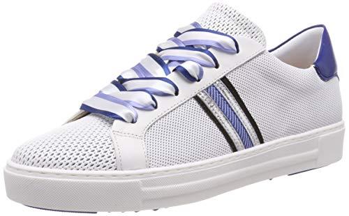 Maripe Damen 28323 Sneaker, Weiß (Bianco(FORATO 1 in AGNELOTTO Bianco-VAR.04) 10), 39 EU