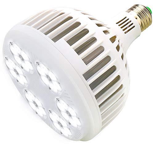 MILYN LED Pflanzenlampe 150W LED Weiß Vollspektrum LED Grow Lampe E27 Pflanzen Wachstumslampe Pflanzenlicht für Zimmerpflanzen, Garten, Aquarium, Gemüse, Gewächshaus & Hydrokultur