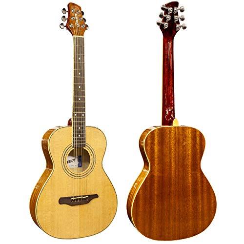 Guvnor GA503 Acoustic Guitar Parlour Style Steel Strings Short Scale 3/4...