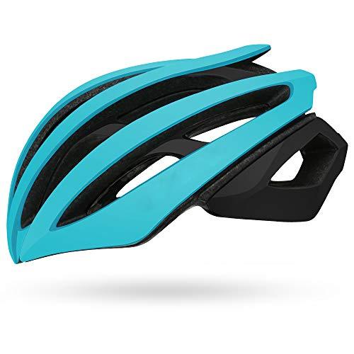 Dagea Casco de Seguridad para Bicicleta de Carretera,con Visera extraíble Gafas de...