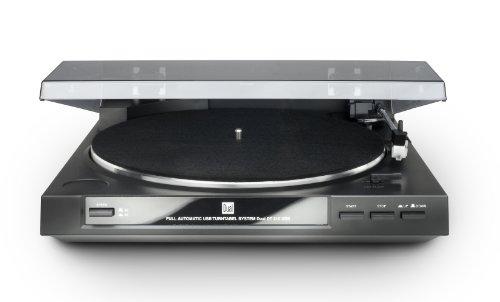 Dual DT 210 USB Schallplattenspieler (USB-Anschluss, 33/45 U/min) schwarz