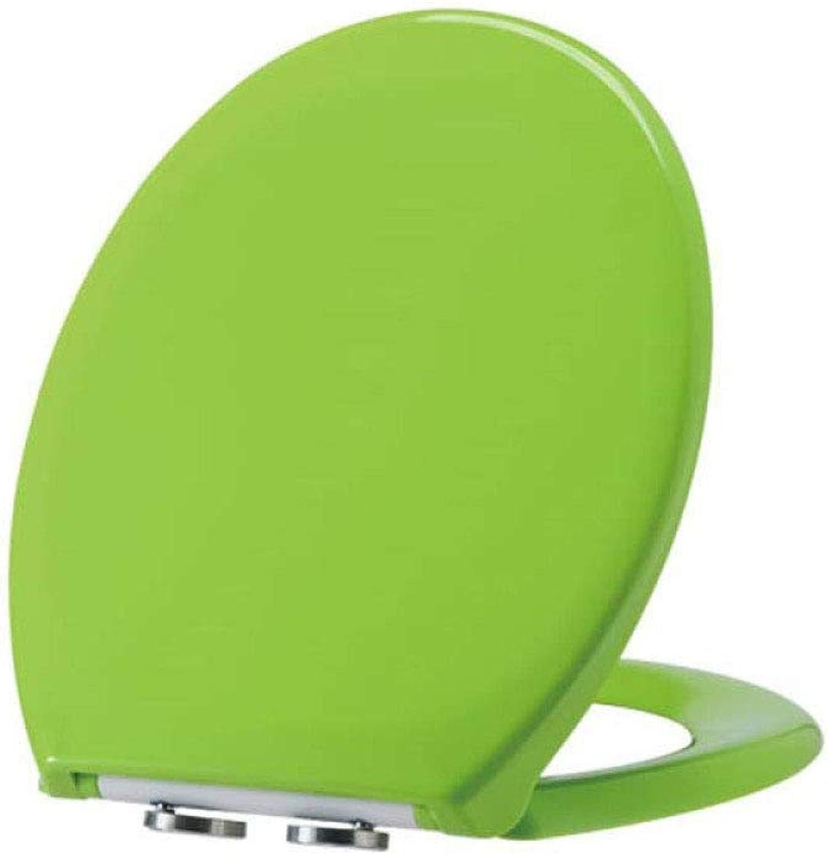 JHMY Toilet Seat Urea-formaldehyde Green Toilet Seat Cover