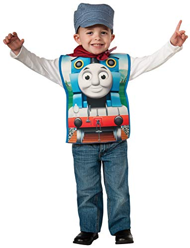 Rubies Thomas and Friends, Thomas The Tank Engine Costume, Child Small, 610081_S