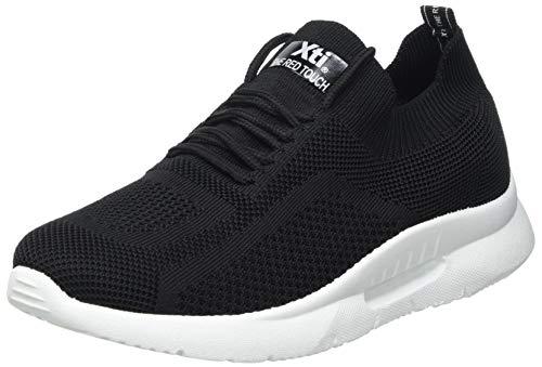 XTI 42414, Zapatillas Mujer, Negro, 37 EU