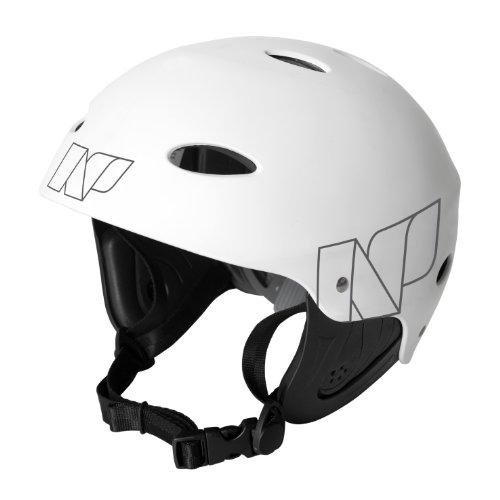 NP Surf Watersports Helmet Flouro Green Matt