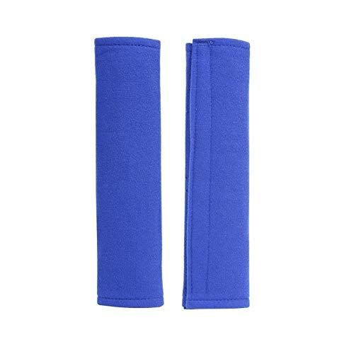 WQZCW Universal 2pc Casas de cinturón de Seguridad Almohadillas Herramientas de protección contra hombreras Kit de Cubierta de cojín para automóviles Protección contra el Hombro (Color Name : Blue)