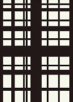 igsticker ポスター ウォールステッカー シール式ステッカー 飾り 841×1189㎜ A0 写真 フォト 壁 インテリア おしゃれ 剥がせる wall sticker poster 003775 チェック・ボーダー チェック 白 黒
