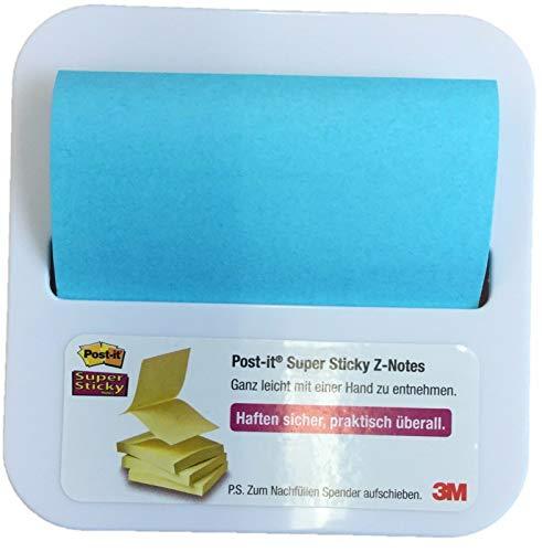 3M Genuine Post It notas en Post It Nota dispensador Stick en el escritorio de nevera.