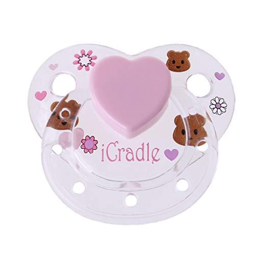 Runrain 6 stili accessori magnetici ciuccio per bambole rinate forniture