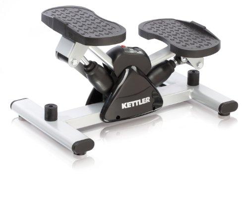Kettler 07874-700 - Stepper, Color Negro y Plateado