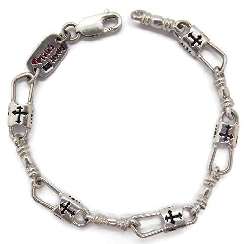 ACTS Bracelet Fishers of Men Sterling Silver Budded Cross NEW Design!!