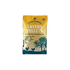 Dodson & Horrell Layer Pellets for Chickens (20kg) (Pack of 2)