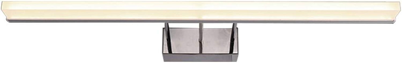 BAIF Spiegelleuchte Badezimmerspiegelleuchten LED-Badleuchte Wasserdicht Anti-Beschlag-Spiegel Schrankbeleuchtung Make-up-Lampe Einfache Wandleuchte [Energieklasse A +] (Farbe  WeißLight, Gre