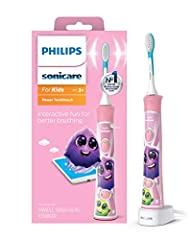 98 percent of parents say it's easier to get kids to brush longer and better with the interactive sonic power toothbrush 91 percent of dental professional parents prefer Sonicare for Kids for their own children Interactive free app educates and gets ...