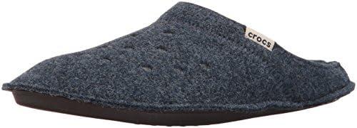 Crocs Classic Slipper, Zapatillas de Estar por casa Unisex Adulto, Azul (Nautical Navy/Oatmeal), 41/42 EU