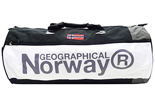Geographical Norway Borsone Spain 75x35x35 cm Palestra e Viaggio Uomo-Donna Nero WR670ACC/GN