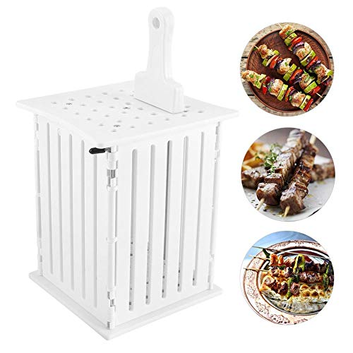 36 gaten brochette spies levensmiddelen BBQ barbecue kebab vlees groente maker helper kit