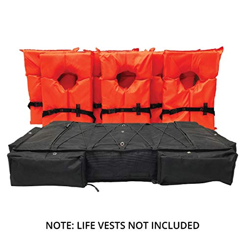 Boat Storage Bag for T-Tops and Bimini Tops Stores 6 Type II PFD Lifejackets