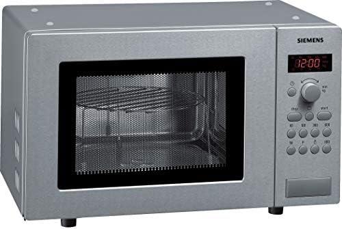 Siemens HF15G541 - Microondas de acero inoxidable (17 litros, 800 vatios)