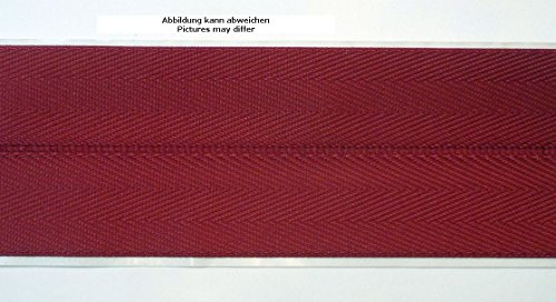 Ruther & Einenkel Teppicheinfassband selbstklebend, Breite 50 mm/Aufmachung 5 m (Bordeaux)