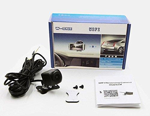 SUNNYスマホ連動WI-FiバックカメラWi-Fi内蔵ワイヤレスバックカメラiOS/Android対応アプリで映像確認高画質CMOS映像配線不要防水等級IP66DC12V専用SNY-Y10NEW