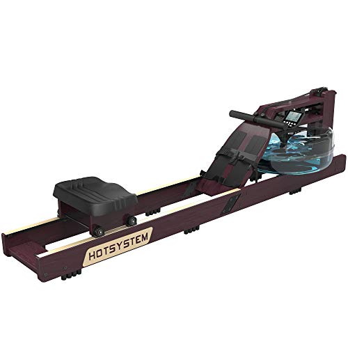 Hotsystem Water Rowing Machine for Home Use, Water...