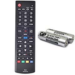 *No programming required.Not universal, function same as your lost/old Lg tv remote.12-Month No-worry warranty. *2 AAA Alkaline battery (GP Brand) packed in,Only input battery and control your lg TV. *AKB73975702 replacement tv remote for lg 55UF6450...