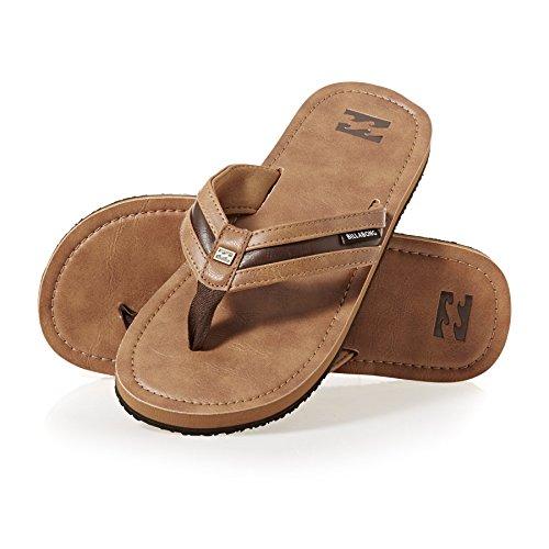 Billabong Seaway, Zapatos de Playa y Piscina Hombre, Marrón (Antique), 44 EU