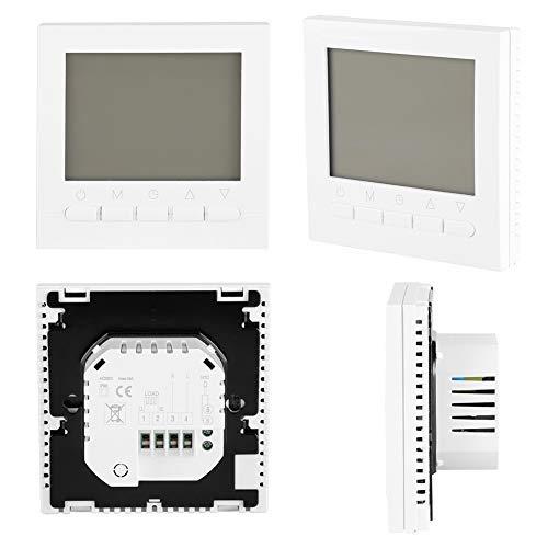 Zunate WiFi Termostato de Pared Digital, termostato programable Inteligente inalámbrico, termostato de calefacción inalámbrico, Control de la aplicación