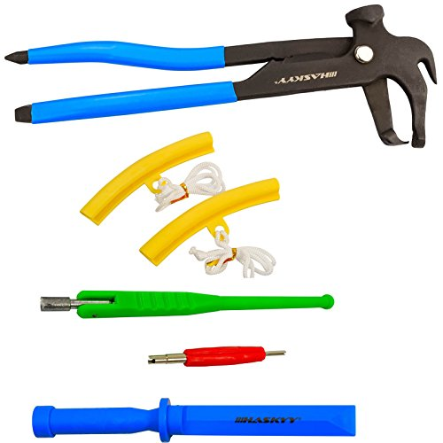 Reifenmontage Zubehör Werkzeug Klebegewichte Schaber Entferner Ventileindreher Ventileinzieher Felgenschoner Felgenkantenschutz Auswuchtzange (Mit Zange)