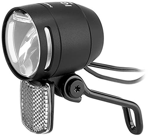 Busch & Müller LED-Scheinw. IQ-XS E-Bike High Beam 100/150 Lux m. Fernlicht schwarz matt