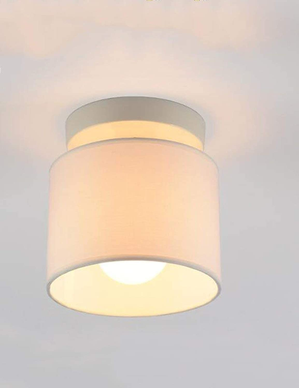 FuweiEncore Decke Licht Tuch Schatten Eisen Moderne Einfachheit Lndlichen Gang Studie Schlafzimmer Bedside Restaurant Energieeinsparung (Farbe  2) (Farbe   2, Gre   -)