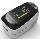 【在庫あり即時に発送】LED大画面看護 指先 濃度 測定器 高精度 簡単操作、家庭用、健康、旅行 アウトドア、 スポーツ、フィットネス (01)