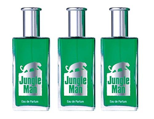 LR Lr jungle man eau de parfum für männer 3x 50 ml