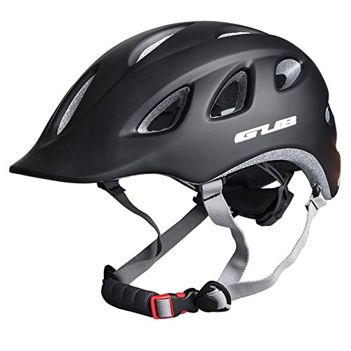Casco de bicicleta de la ciudad MTB Road Bike Safe Cap Commuter Recreational Bike Casco Negro