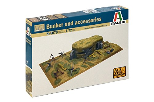 Italeri 6070 - WWII Bunker  And Accessories Scala 1:72
