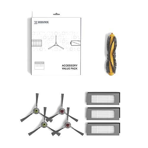 Ecovacs DN5G-KTA Robotics DN5G-KTA - Juego de accesorios para OZMO 900/905, color blanco