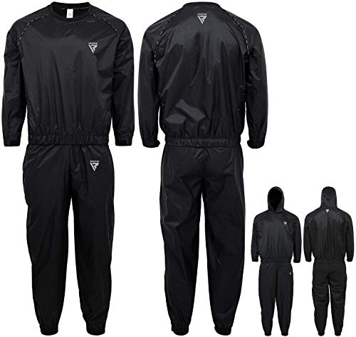 RDX Sauna Suit for Gym Workout and Fitness Training Sweat Suits for Men and...