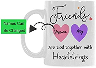 friends are tied together with heartstrings