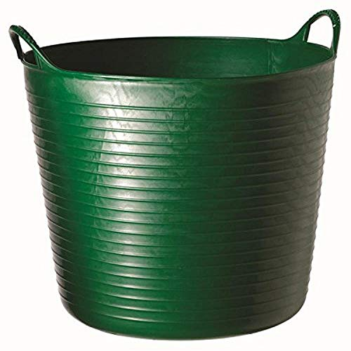 Decco Ltd Cubo Flexible, Verde, 26 litros