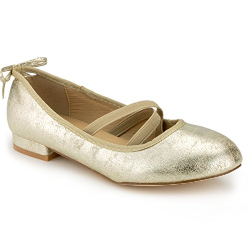 Top 10 best selling list for flat shoes with gold accent