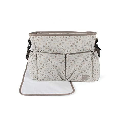 Walking Mum 36179 - Bolsa canastilla happy animals (ha), unisex