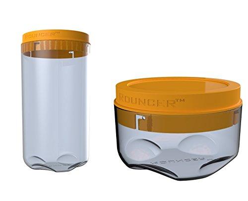 Rouncer - Una di alta qualità progettato e durevole contenitori di stoccaggio Confezione in 2 misure - Ideale per soluzioni di archiviazione Casa e cucina.