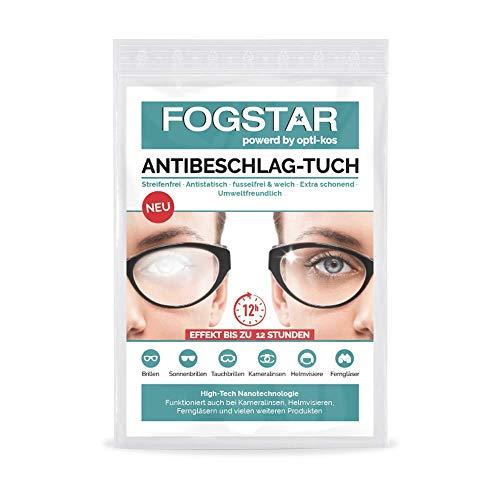 FogStar - Antibeschlagtuch Brille | Verhindere effektiv das Beschlagen Deiner Brille - Brillenreiniger, Anti Beschlag Schutz, Brillenputztuch Antibeschlag, wiederverwendbar (1)