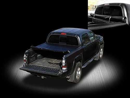VXMOTOR for 01-03 F150 SUPERCREW Super Crew CAB 5.5 ft Short Bed - Roll-Up Soft Tonneau Cover