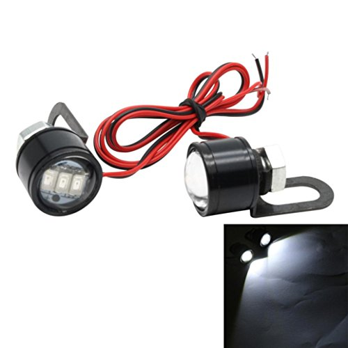 Motorcycle Eagle Eyedled Lights, Tuscom@ Modified Lamp Accessories LED Mirror Headlights (Always bright models)
