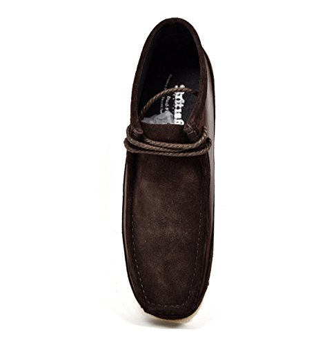 """British Collection""""Walkers"""" Men Leather and Suede Lace Up"""