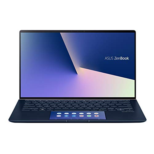 ASUS ZenBook 14 UX434FAC-A5188T - Portátil de 14' FullHD (Intel Core i7-10510U, 16GB RAM, 512GB SSD, Intel Graphics, Windows 10 Home) Azul Real - Teclado QWERTY Español