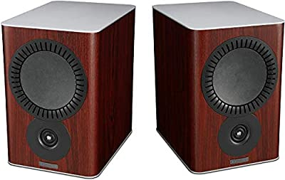 Mission QX-2 Bookshelf Speakers - Rosewood (Pack of 2) by Mission