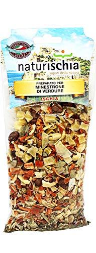 Naturischia - 3 confezioni di preparato per Minestrone di verdure 100 gr. ciascuna - Prodotto tipico Ischia